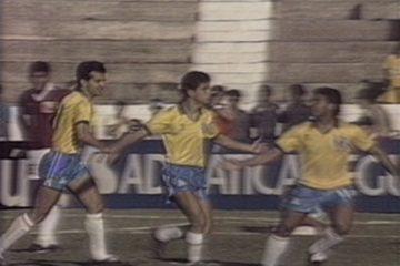Em 1989, Brasil vence a Venezuela por 3 a 1 pela Copa América