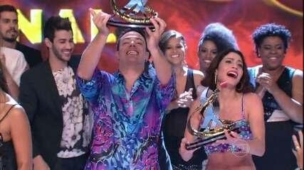 Carol Castro vence a Dança dos Famosos 2013!