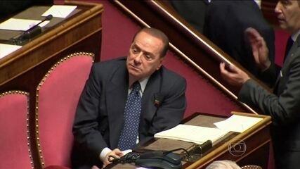 Ex-primeiro-ministro italiano Silvio Berlusconi vai prestar serviços comunitários