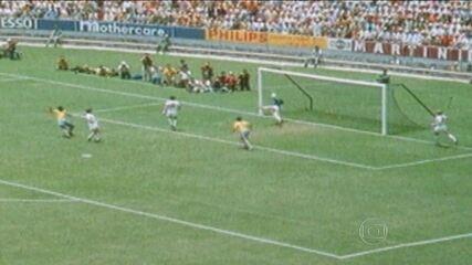 """""""Esporte Espetacular"""" desvenda defesa de Gordon Banks em cabeçada de Pelé na Copa de 1970"""