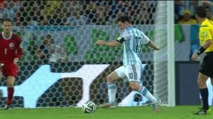 Argentina derrota a Bósnia em Maracanã cheio, pela Copa do Mundo