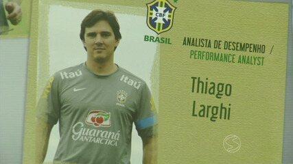 Morador de Paraíba do Sul, RJ, integra comissão técnica da Seleção Brasileira