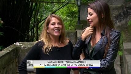 Descubra por onde anda a atriz Tássia Camargo
