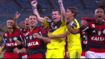 Os gols de Flamengo 3(3) x (2)0 Coritiba, pelas oitavas de final da Copa do Brasil de 2014