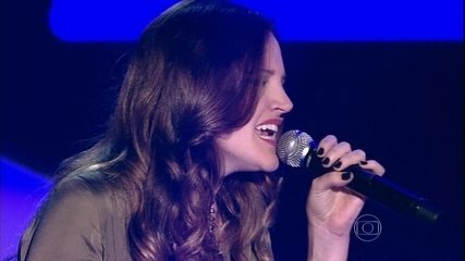 Com Led Zeppelin, Nathalie Alvim volta ao The Voice e conquista os técnicos