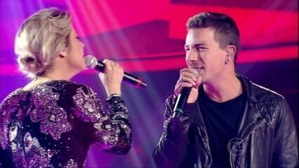 Luiza Possi e Di Ferrero encerram última noite de Batalhas do The Voice Brasil