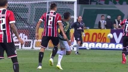 Melhores momentos: Palmeiras 3 x 0 São Paulo pela 12ª rodada do Paulistão de 2015