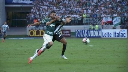 Primeiro jogo: Palmeiras 1 x 0 Santos
