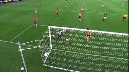Os gols de Corinthians 6 x 1 São Paulo pela 36ª rodada do Campeonato Brasileiro