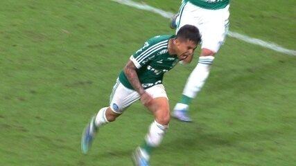 Gol do Palmeiras! Dudu faz mais um escorando para as redes aos 39' do 2º Tempo