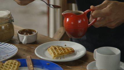 Receita de waffle colonial (boleira)