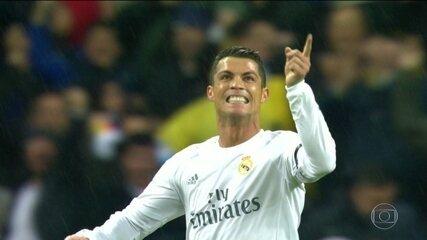 Na caminhada do título de 2016, Cristiano Ronaldo decidiu contra o Wolfsburg com um hat-trick na volta das quartas de final