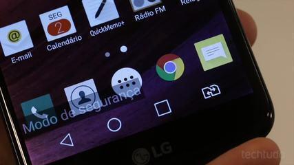 Como abrir o seu celular Android em Modo de Segurança