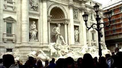 Fontes de Roma fornecem água das montanhas há mais de dois mil anos
