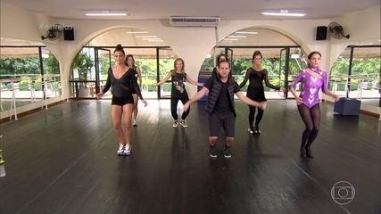 Juliana Paes, Deborah Secco e Maria Joana fazem coreografia com a música 'Work'