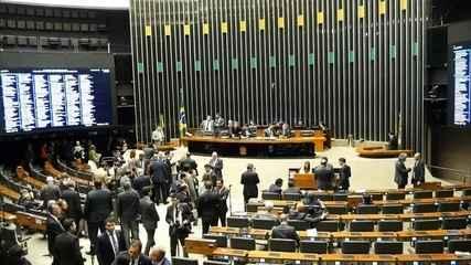 """""""Centrão"""" domina discussões na Câmara"""