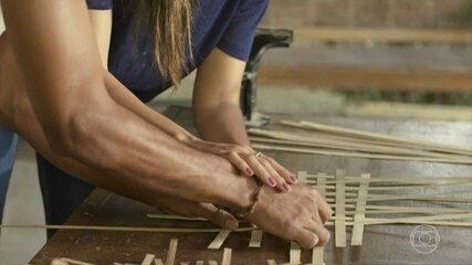 Yumi incentiva Tiago a investir na carreira de artesão