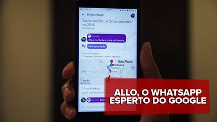 Allo é o 'WhatsApp do Google'; veja no vídeo suas principais funções