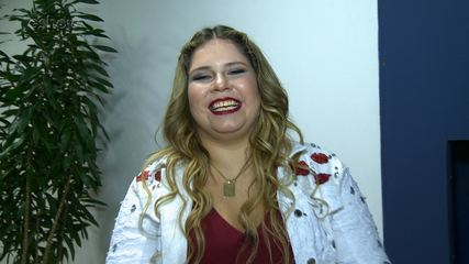 Marília Mendonça fala da emoção de se apresentar no Faustão pela primeira vez