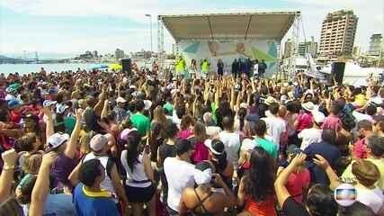 Florianópolis recebe o Bem Estar Global