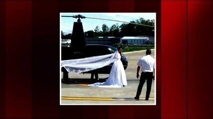 Noiva a caminho do casamento morre na queda de um helicóptero na Grande SP