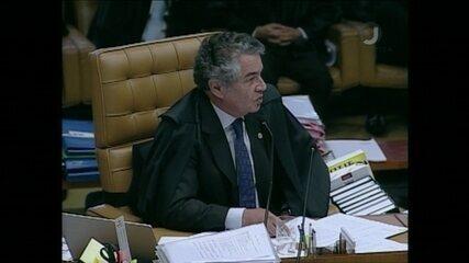 Ministro Marco Aurélio Mello comenta o seu voto