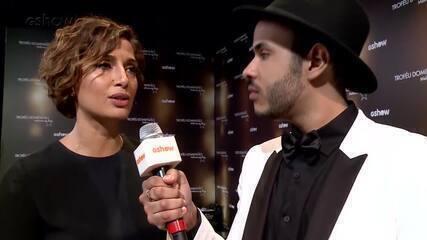 Hugo Gloss repercute sucesso de Camila Pitanga nas redes sociais