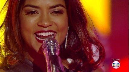Lucy Alves se apresenta no 'The Voice Brasil'