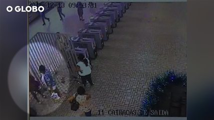 Câmera da Central grava encontro entre grávida e suspeita
