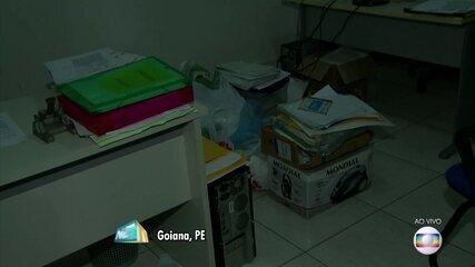 Polícia investiga esquema de fraude em licitações na Prefeitura de Goiana