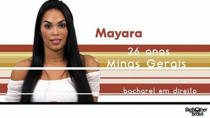 Conheça Mayara, a nova participante do BBB 17