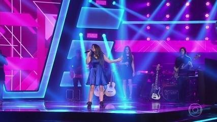 """Lawany Ferreira canta """"Something's Got a Hold on Me"""""""
