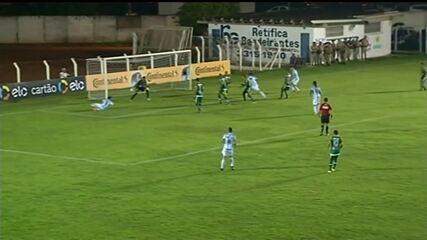 Veja os gols de Gurupi 2 x 1 Londrina pela Copa do Brasil