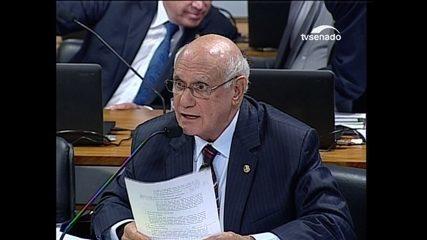 Senador Martins questiona Moraes sobre o foro privilegiado e a anistia ao caixa 2