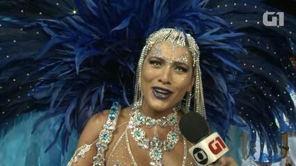 Lívia Andrade se diz confiante com nova vitória da Império de Casa Verde