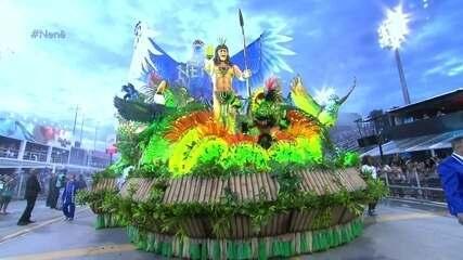 Abre-alas da Nenê de Vila Matilde representa Coré etuba, imenso paraíso
