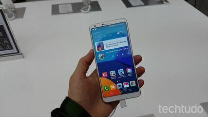 Assista às primeiras impressões LG G6 durante o lançamento, em 2017