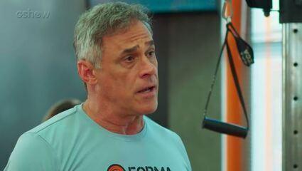 Teaser Malhação 06/03: Jorjão volta a treinar Rômulo