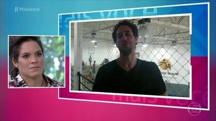 Flávio Canto pergunta sobre os planos de Amanda Nunes