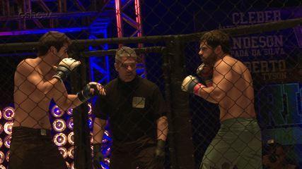 Veja os bastidores da luta entre Vanderson e Rômulo