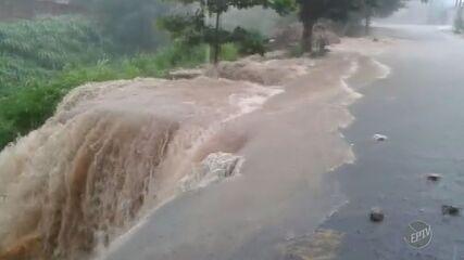 Fim de semana tem em cinco horas chuva esperada para nove dias em Campinas