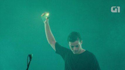 Veja trecho de show do DJ Martin Garrix no palco Perry's do LOLLAPALOOZA