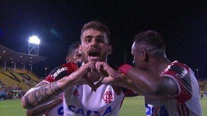O último gol de Vizeu: Volta Redonda 1 x 1 Flamengo, pela quinta rodada da Taça Rio