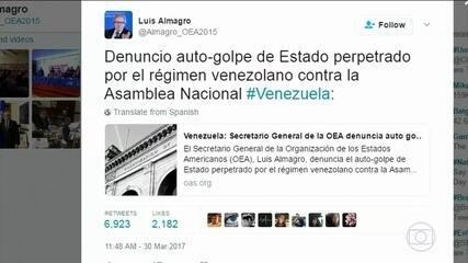 Suprema Corte de Venezuela é criticada por atropelar Congresso
