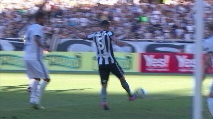 Os gols de Lindoso pelo Botafogo em 2017