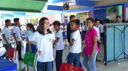Escola cria estratégia para melhorar o comportamento dos alunos dentro e fora da escola