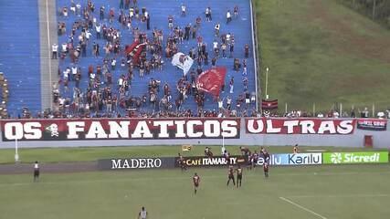 Veja os pênaltis de Londrina x Atlético-PR pela semifinal do Campeonato Paranaense, no Estádio do Café