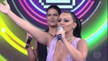 Viviane AraújoeAntonia Morais acertam a última música do 'Ding Dong'