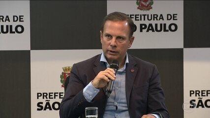 Depois de imagens exibidas no SPTV e no JH, João Dória anuncia ações na Cracolândia