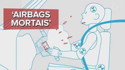 Entenda o caso dos 'airbags mortais' da Takata; Brasil tem recalls